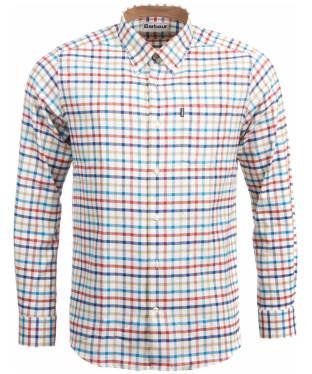 Men's Barbour Albert Tailored Shirt - Teal Check