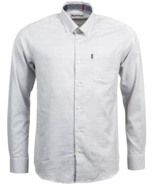 Men's Barbour Don Tailored Shirt - Mid Grey
