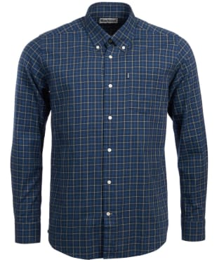 Men's Barbour Dillon Tailored Shirt - Navy Check