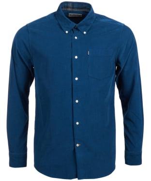 Men's Barbour Morris Tailored Fit Shirt - Dark Teal