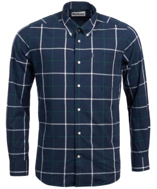 Men's Barbour Baxter Check Shirt - Midnight Blue Check