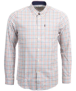 Men's Barbour Ethan Tailored Shirt - Teal Check