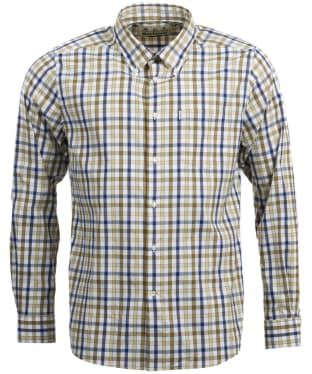 Men's Barbour Fell Performance Shirt - Sunbleach Olive