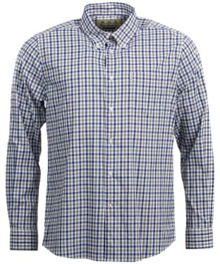 Men's Barbour Hill Performance Shirt - Midnight Blue
