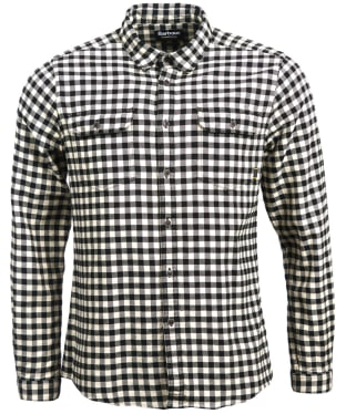 Men's Barbour International Killinger Shirt - Black Check