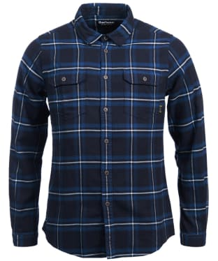 Men's Barbour International Dash Shirt - Soot Check