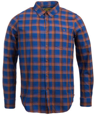 Men's Barbour Steve McQueen Axle Shirt - Monaco Blue Check