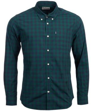 Men's Barbour Endsleigh Gingham Shirt - Seaweed
