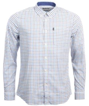 Men's Barbour Endsleigh Tattersall Shirt - White