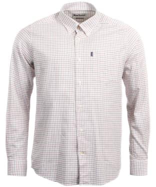 Men's Barbour Stapleton Tattersall Shirt - Red