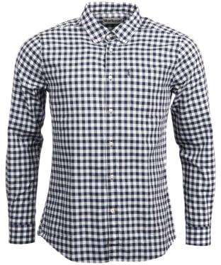 Men's Barbour Endsleigh Gingham Shirt - Navy