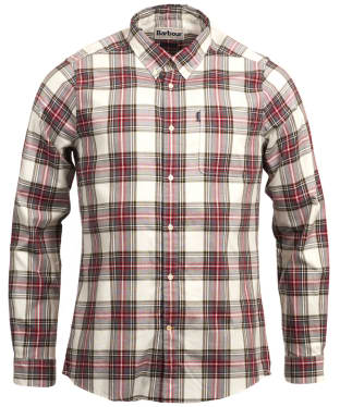 Men's Barbour Highland Check 14 Tailored Shirt - Neutral