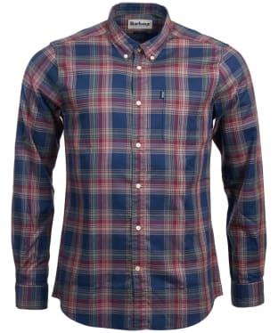 Men's Barbour Endsleigh Highland Check Shirt - Navy