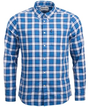 Men's Barbour Endsleigh Highland Check Shirt - Mid Blue