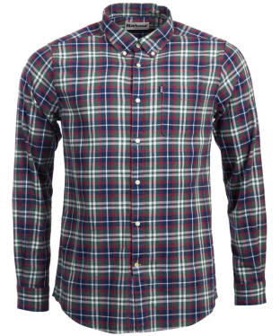 Men's Barbour Endsleigh Highland Check Shirt - Racing Green