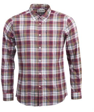Men's Barbour Endsleigh Highland Check Shirt - White
