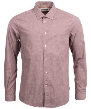 Men's Barbour Highfield Micro Gingham Shirt - Navy