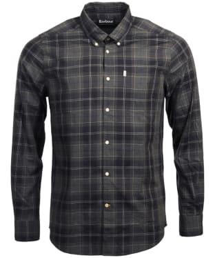 Men's Barbour Wetheram Shirt - Graphite