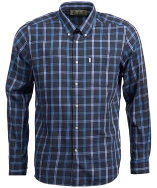 Men's Barbour Keenan Wool Mix Shirt - Charcoal