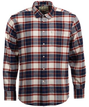 Men's Barbour Lowther Patch Shirt - Rustic