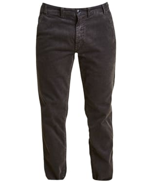 Men's Barbour Neuston Stretch Cord Trousers - Navy