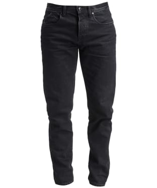 Men's Barbour International A701 Jeans - Black