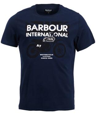Men's Barbour International Spark Tee - Navy