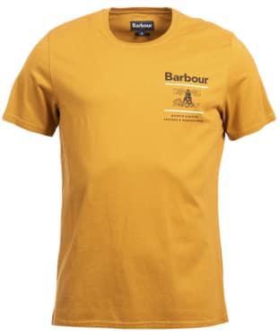 Men's Barbour Reed Tee - Copper