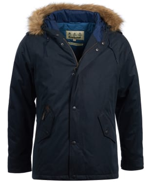 Men's Barbour Yearling Waterproof Jacket - Navy