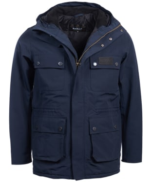 Men's Barbour International Endo Waterproof Jacket - Navy
