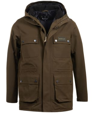 Men's Barbour International Endo Waterproof Jacket - Olive
