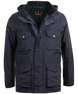 Men's Barbour Tiree Waterproof Jacket - Navy