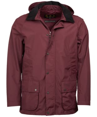 Men's Barbour Ashbrooke Waterproof Jacket - Bordeaux