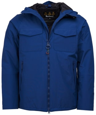 Men's Barbour Harlech Waterproof Jacket - Inky Blue