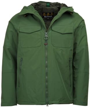 Men's Barbour Harlech Waterproof Jacket - Racing Green
