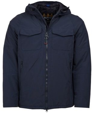 Men's Barbour Harlech Waterproof Jacket - Navy