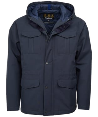 Men's Barbour Whitstable Waterproof Jacket - Navy