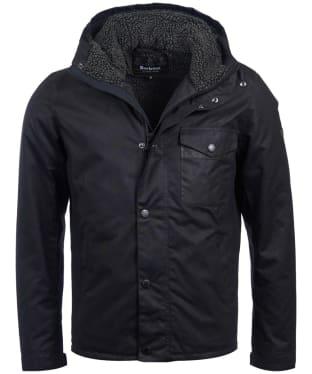 Men's Barbour International Kevlar Waxed Jacket - Black