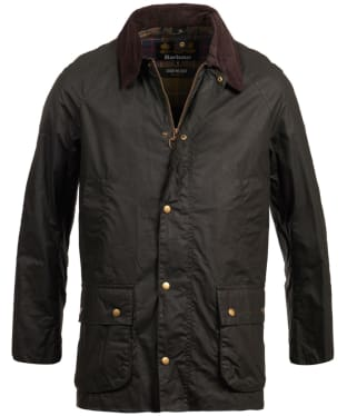 Men's Barbour Lightweight Ashby Waxed Jacket - Sage