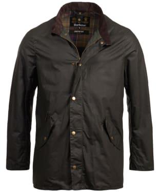 Men's Barbour Lightweight Prestbury Waxed Jacket - Sage