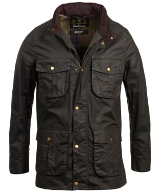 Men's Barbour Lightweight Corbridge Waxed Jacket - Sage