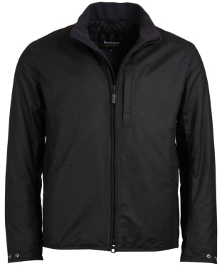 Men's Barbour International Darley Waxed Jacket - Black