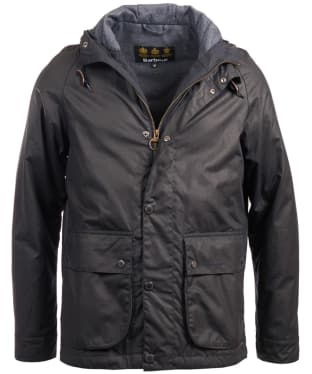 Men's Barbour Nautic Waxed Jacket - Navy
