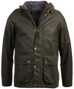 Men's Barbour Nautic Waxed Jacket - Sage