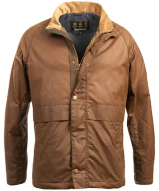 Men's Barbour Sark Waxed Jacket - Dark Sand