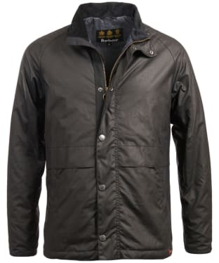 Men's Barbour Sark Waxed Jacket - Navy