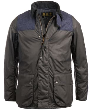 Men's Barbour Wight Waxed Jacket - Navy