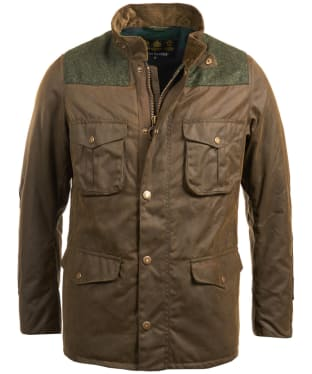 Men's Barbour Tresco Waxed Jacket - Olive