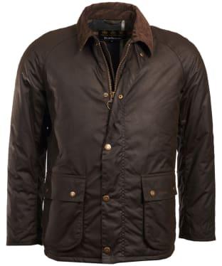 Men's Barbour Strathyre Waxed Jacket - Olive