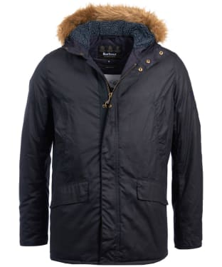 Men's Barbour Steve McQueen Sub Wax Jacket - Navy